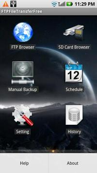 FTP File Transfer Manager Free poster