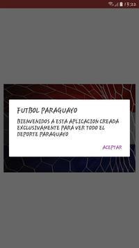 FUTBOL PARAGUAYO Poster