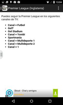 Futbol en Vivo TV apk screenshot