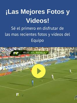 FutbolApps.net Vélez Fans screenshot 5