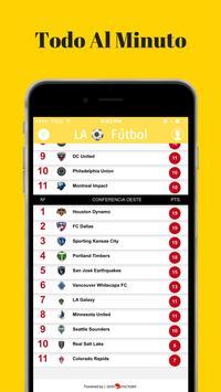 Futbol Profesional en LA - USA apk screenshot