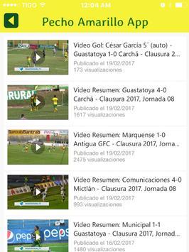Guastatoya Noticias - Futbol de los Pecho Amarillo screenshot 9