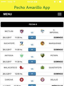 Guastatoya Noticias - Futbol de los Pecho Amarillo screenshot 12