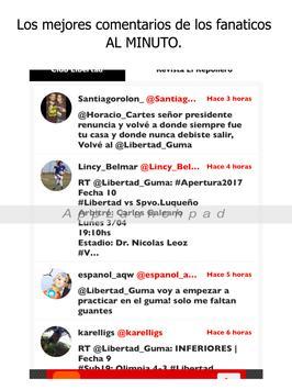 Libertad Noticias - Futbol del Club Libertad de Py screenshot 4