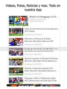 Libertad Noticias - Futbol del Club Libertad de Py screenshot 6