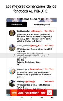 Libertad Noticias - Futbol del Club Libertad de Py screenshot 8