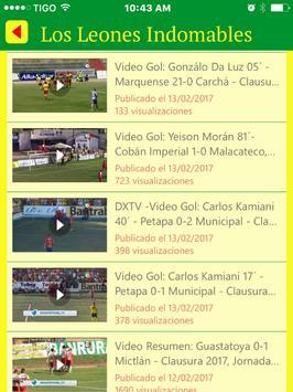 Marquense Noticias - Futbol de los Leones de Guate screenshot 5