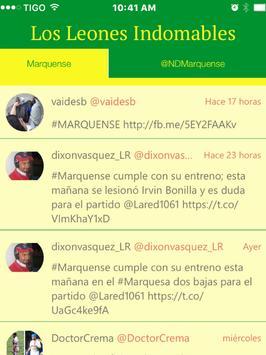 Marquense Noticias - Futbol de los Leones de Guate screenshot 9