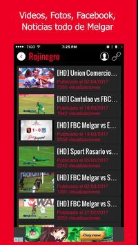 Melgar Noticias - Futbol del FBC Melgar de Perú screenshot 2