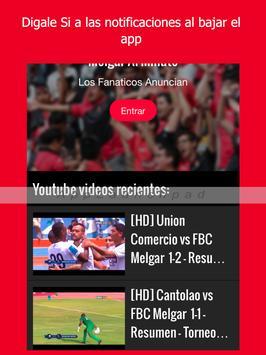 Melgar Noticias - Futbol del FBC Melgar de Perú screenshot 4