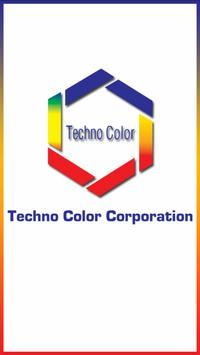 Techno Color Dyestuff Range poster