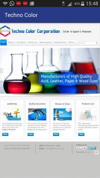 Techno Color Dyestuff Range apk screenshot