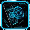Technologia Neon Blue ikona