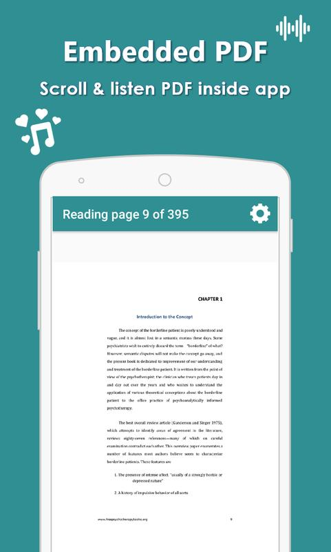 Audiobook Listen Any Pdf News Article Or Text For Android Apk