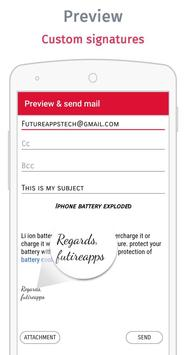 Yo mail ! Email composer app screenshot 5