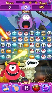 Halloween Crush Match 3: Free! screenshot 7