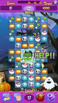 Halloween Crush Match 3: Free! screenshot 4