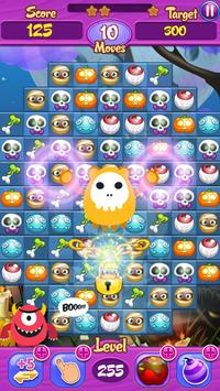 Halloween Crush Match 3: Free! screenshot 5