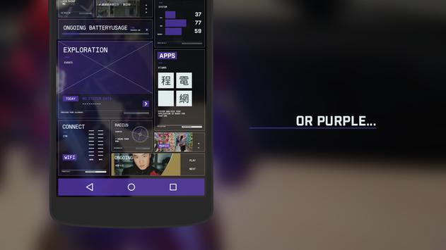 FuelUI KLWP apk screenshot