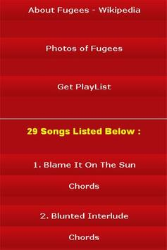 All Songs of Fugees apk screenshot