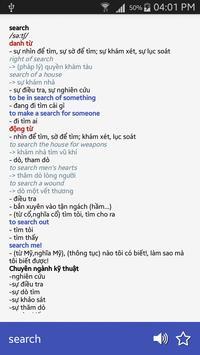 Từ điển Siêu Nhanh Anh Việt apk screenshot