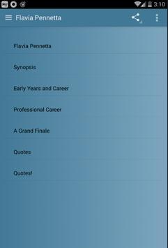 Flavia Pennetta screenshot 1