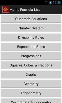 Maths School Guide poster