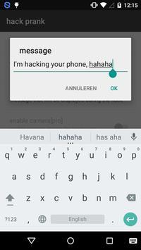 Hack prank - prank app screenshot 1