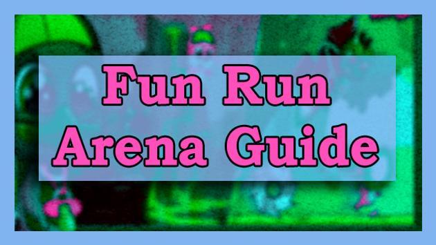 Tips Fun Run Arena Race poster