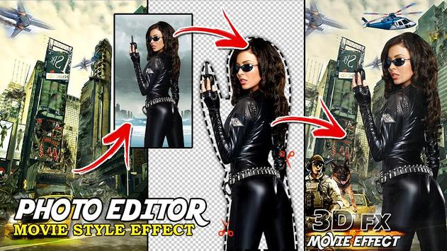 3D Movie FX Photo Editor - Movie Style Effect poster
