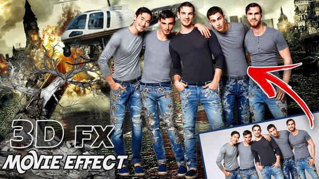 3D Movie FX Photo Editor - Movie Style Effect screenshot 2