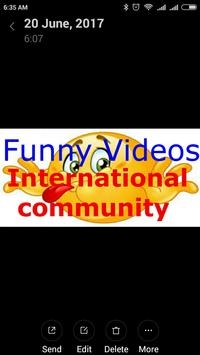 Funny Videos Community  International apk screenshot