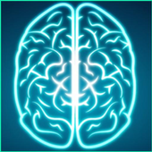Word brain game icon