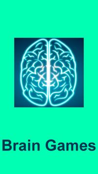 Word brain game poster