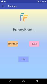 FunnyFonts screenshot 2