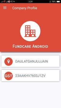 FundCare Reporting screenshot 2