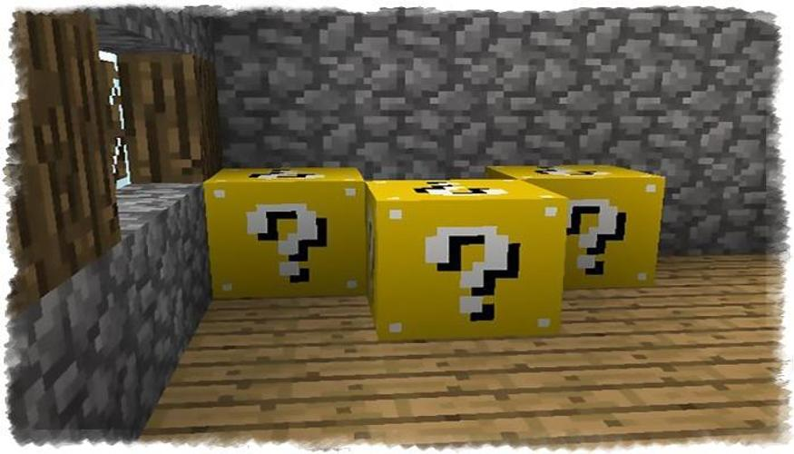 лаки блоки майнкрафт ре #7