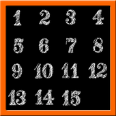 Classic Number Slide Puzzle icon