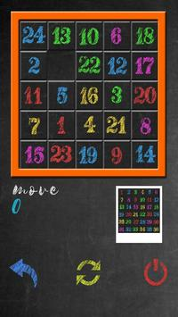 Classic Number Slide Puzzle screenshot 1