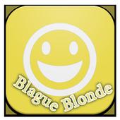 Blagues Blonde Drôles icon