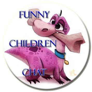 Funny Children Chat poster