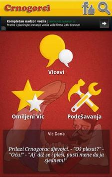 Vicevi o Crnogorcima apk screenshot