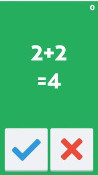 True False Math apk screenshot