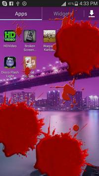 Blood Screen Prank apk screenshot