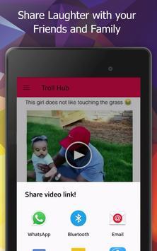 TrollHub: Unlimited Funny trending videos and pics apk screenshot