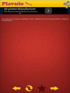 Vicevi o Plavušama apk screenshot
