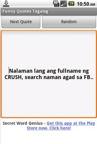 Funny Quotes Tagalog for Android - APK Download