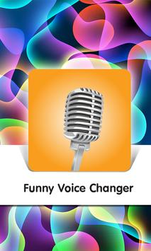 Funny Voice Changer poster