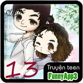 truyện teen 13 offline icon