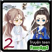 Truyện teen p2 offline icon